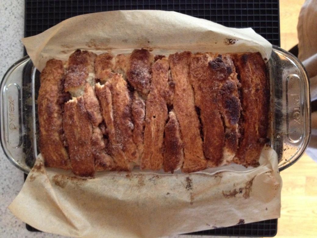 scone bread top